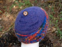Flowerbutton_cap
